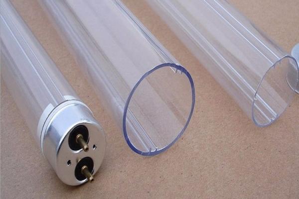 透明挤出T8 LED高透明日光灯26厚度1mmPC管